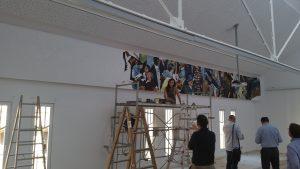 Caixa Forum Lleida grafica Lily Brik